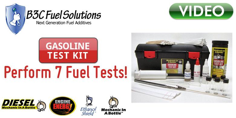 B3C Gasoline Test Kit