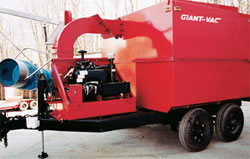 Giant-Vac Self-Contained Hydraulic Dump Truck Loader