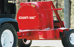 Giant-Vac Tow Behind Blower